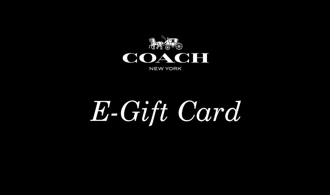 Coach E-Gift Card